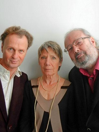 Kurt Hexmann, Erika Deutinger, Helmut Korherr, Foto: © Korherr