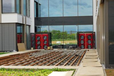BlowerDoor Test Industriegebäude Gebäudedichtheit Luftdichtheit