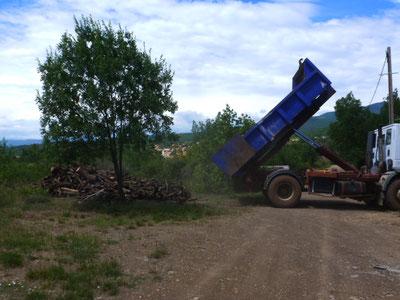Du bois pour les cuissons