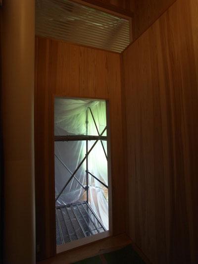 松本市 山形の家(山形村) アフターケア 長野県松本市の建築設計事務所 建築家 丸山和男 現場監理 住宅