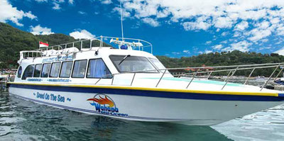 Wahana Gili Ocean Fastboat, Fastboat Service from Padangbai to Lombok and Gili Islands,  Tourist's Shuttle Service, Bali and Lombok, Fast Ferry, fast catamaran, luxury cruise for bali and lombok