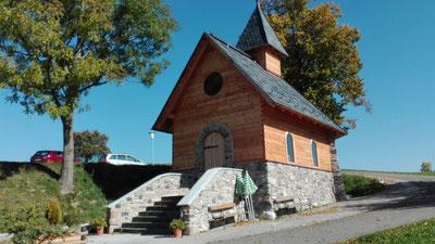 Kapelle am Klippitzthörl / Kärnten mit Kunststeinen