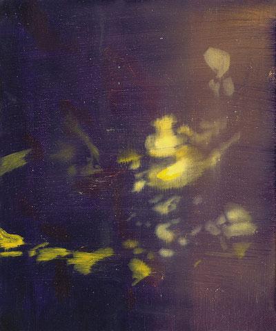 o.T., 2017, Öl auf Leinwand, 30x 24 cm