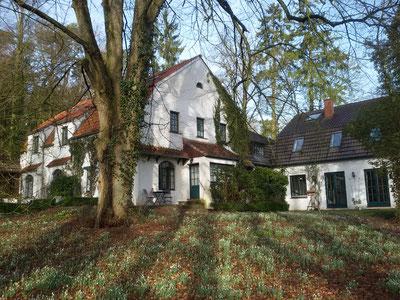 Vier Sterne Hotel Buchenhof im ehemaligen Wohnhaus des Malers Hans am Ende