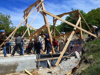 Limans, le chantier de la nouvelle maison collective