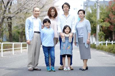 出張講座家族写真
