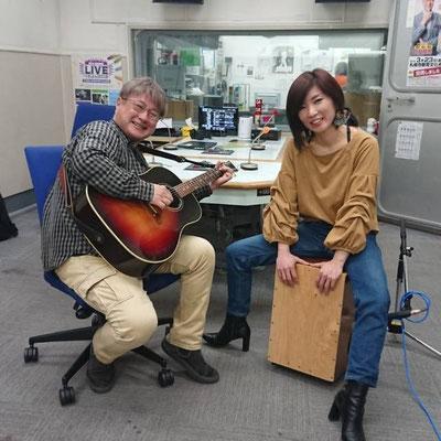 STVラジオ「MUSIC⭐︎J」出演。パーソナリティの松崎真人さんと