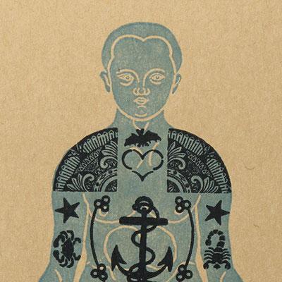 Caderno Serrote - Tatuagem