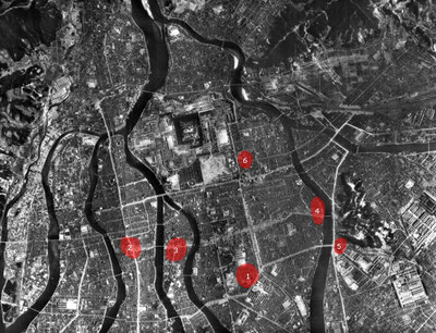 被爆直前の広島と建物疎開