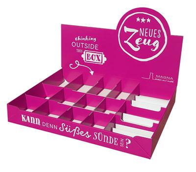 Thekendisplay Snackbox / Snackkiste