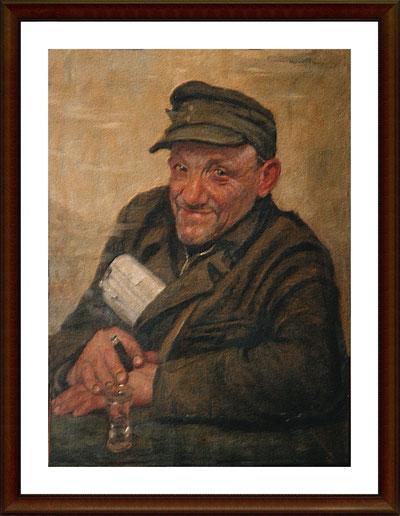 Josef Müller (Gemälde von Heinz Wever)