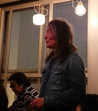 2018年10月21日 札幌Fudgeにて 増渕英紀・足の臭い女のロックショー