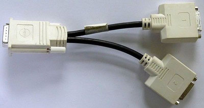 Abbildung 13 DVI-Y-Kabel