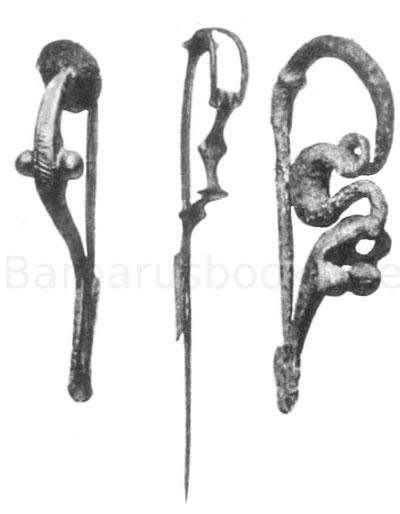 keltische Gewandnadeln Fibeln aus Deutschland, Bayern und Rheinhessen