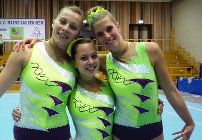 Christina Martin, Katharina Preller und Maya Eismann (v.l.)