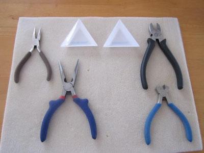 制作に使う工具と道具