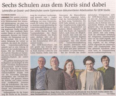 Buxtehuder Tageblatt, 14.04.2015