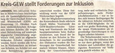 Buxtehuder Tageblatt, 24.10.2015
