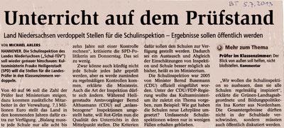 Buxtehuder Tageblatt, 05.07.2013