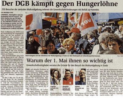 Buxtehuder/Stader Tageblatt, 02.05.2013