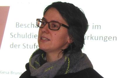 Anne Kilian - Referentin auf der Frühjahrs-KMV