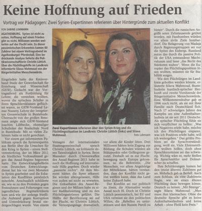 Buxtehuder Tageblatt, 15.02.2016