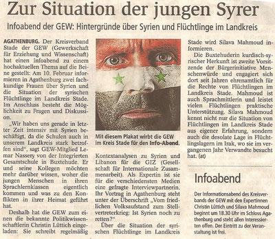 Buxtehuder Tageblatt, 06.02.2016