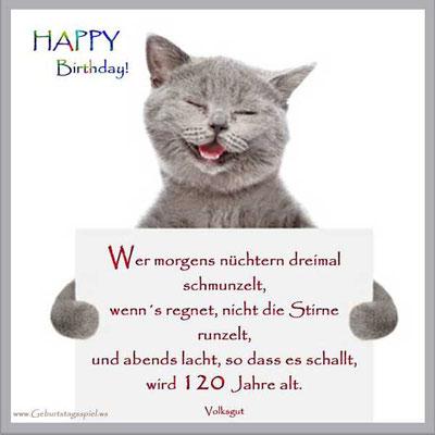 Geburtstagsgrüße für Glückwünsche