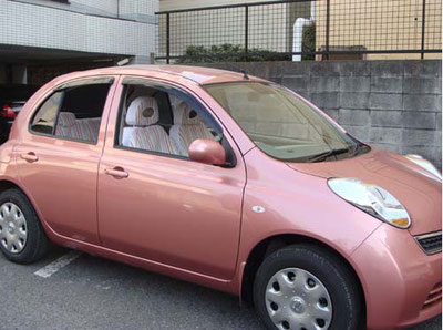 オーダーメイド カーシートカバー 製作事例 横浜コットンハリウッド
