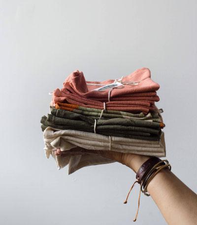 Lot de serviettes en lin - Cliquez sur la photo pour plus d'informations