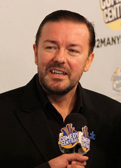 Ricky Gervais | Bild: Thomas Atilla Lewis [CC BY-SA (https://creativecommons.org/licenses/by-sa/2.0)]
