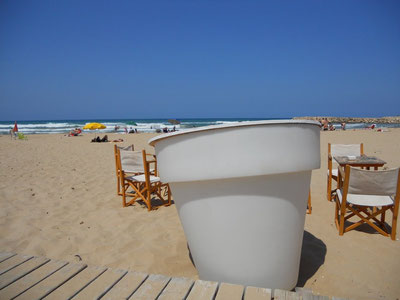 Strandbar in Oliva-Beach