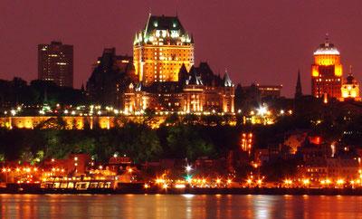 Québec, la nuit...