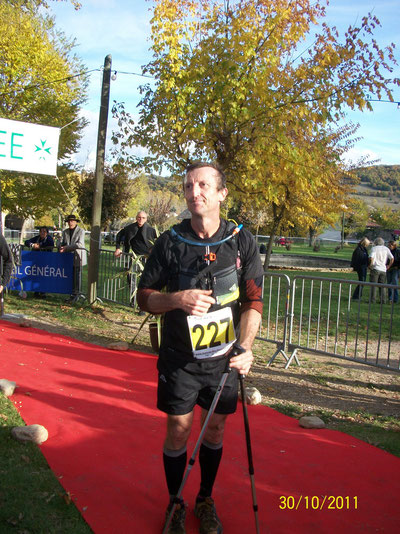 André, Finisher des Hospitaliers 75 km