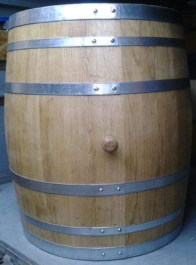 Holzfass 300 Liter rund