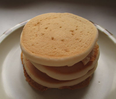 卵不使用のパンケーキ(サンプル)
