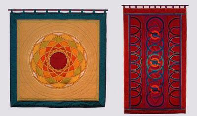 Heike Utta, Textile Wandbilder