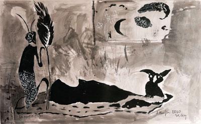 Sylvia Kiefer, Der lauernde Tod I, März 2020