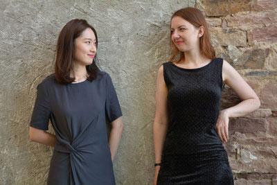 Sangmi Choi (links) und Elina Lukijanova