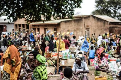 Markt in Kisangara: Verhandeln ist Pflicht!