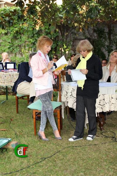 Poetry Reading (sezione stranieri con Lidia Chiarelli e Rosalba Vacis) - (foto Cesare Dellafiore)