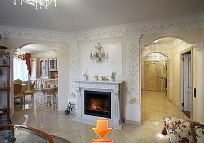 Портфолио квартир: фотография интерьера квартиры