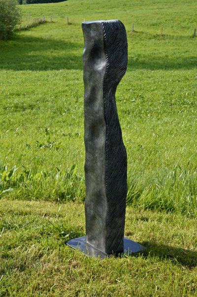 buklige grade, Glaukonit, 2017, 110 x 19 x 16 cm