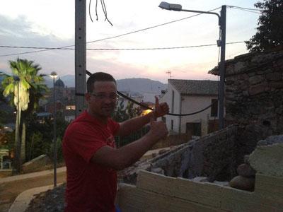 Sergio en el TRAIL DE SONEJA 2014. (11km)  1h 17min