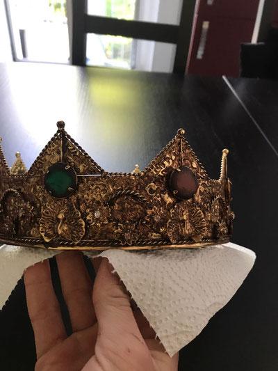 ... die Krone ist poliert ...