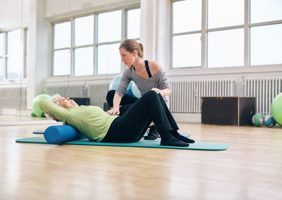 coaching sportif prévention mal de dos Pilates sénior