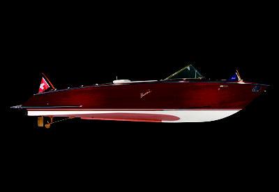 MAG Lifestyle Magazin Yachten Boote Boesch Motorboote AG Holzboote Mahagoniboote Wasserskiboote Bootsbau exklusive sportliche elegante Klassiker Century Edition Firmenjubiläum