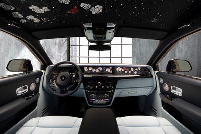 MAG Lifestyle Magazin Rolls Royce Phantom Rose Luxus Autos Luxusautos Bespoke Meisterwerk Kunstwerk