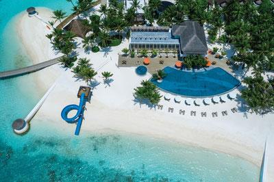MAG Lifestyle Magazin Reisen Urlaub Familienurlaub Fernreisen Malediven Atmosphere Hotels Resorts Unterwasserparadies Tauchurlaub Oblu Selec Kinder kinderfreundlich All Inclusive