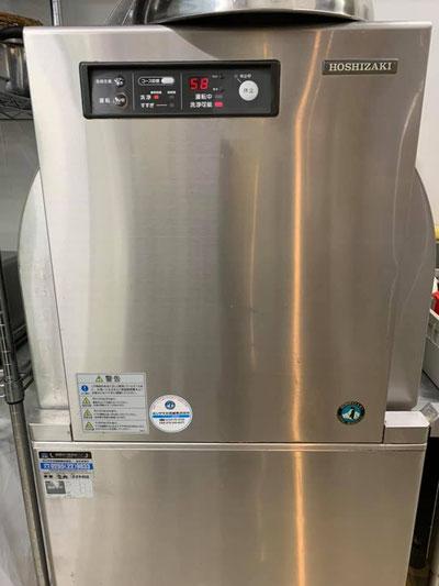 毎日文句も言わず活躍してくれるホシザキの食洗機 JW-450WUF